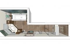LH55 3D-Grundriss Bad Landhaus Impuls