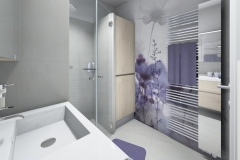 M71 Dusche, Waschmaschinenverbau, Handtuchtrockner